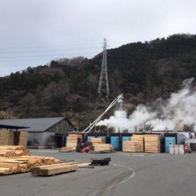 県産材加工協同組合に来ました