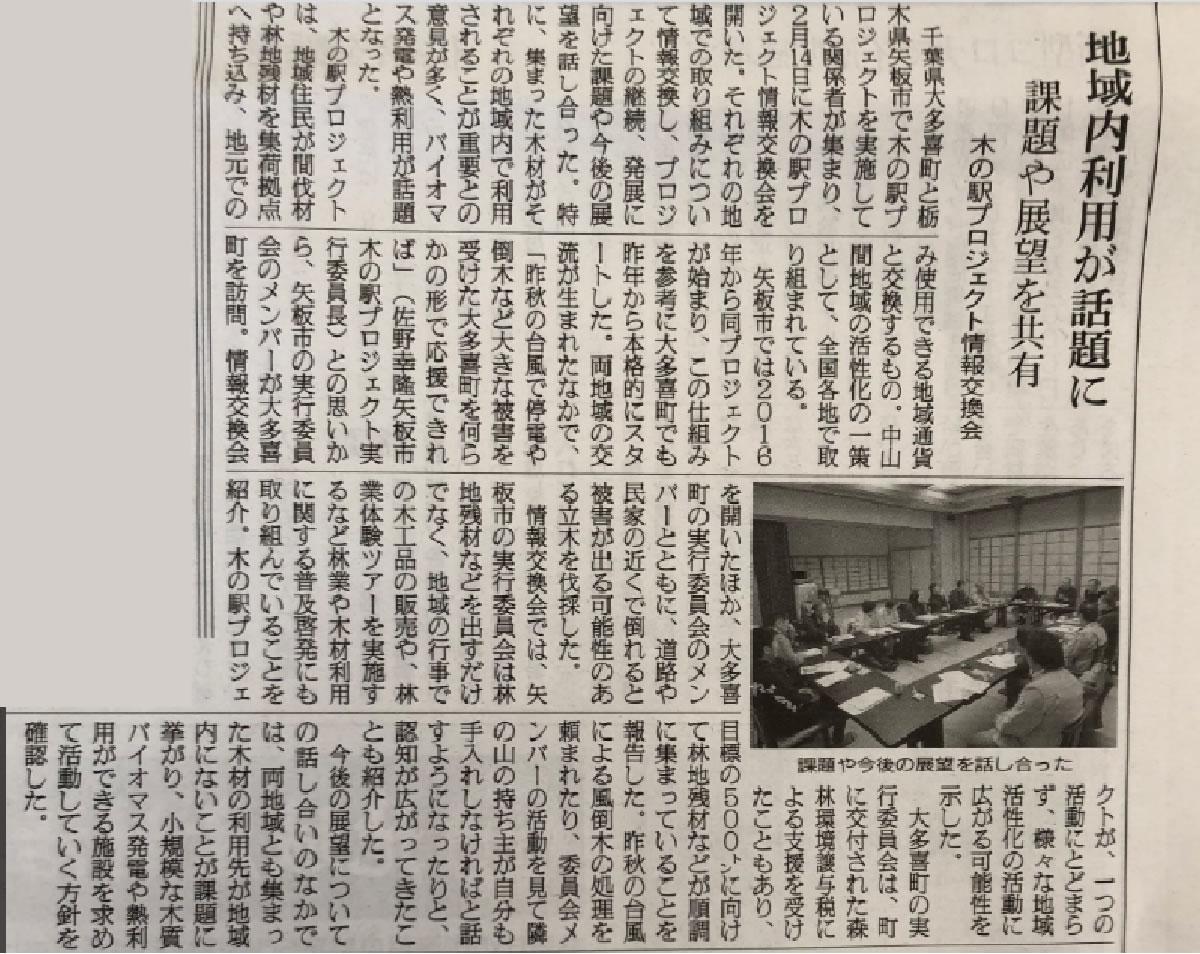 2020年3月28日/日刊木材新聞掲載