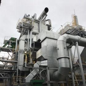 那珂川バイオマス発電所は、毎年恒例の定期修繕工事で7月19日まで停止しております。